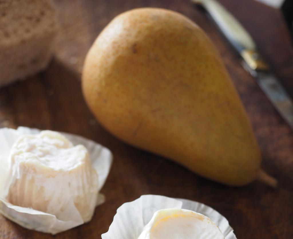 pear-cheese