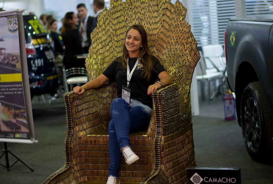 Riocentro Expo Centre in Rio de Janeiro, Brazil fear of sitting kathisophobia thaasophobia