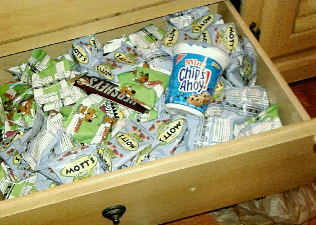 snack drawer bad habits pinterest avoiding cue