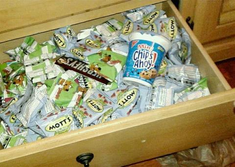 snack drawer bad habits pinterest avoiding cue