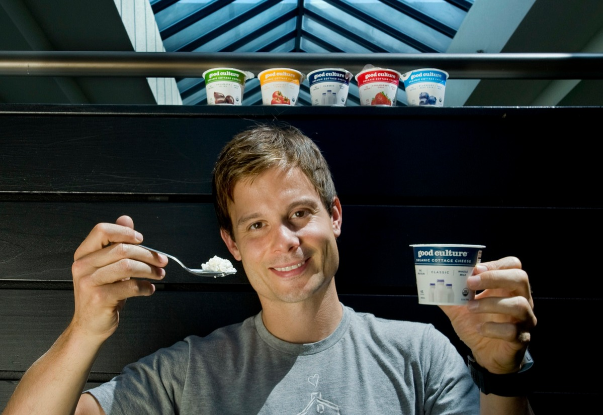 Jesse Merrill is co-founder and CEO of Good Culture, an organic cottage cheese company.