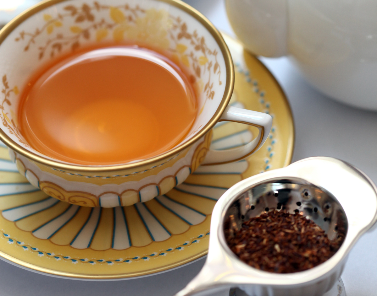 Rooibos with vanilla of Tea Saloon