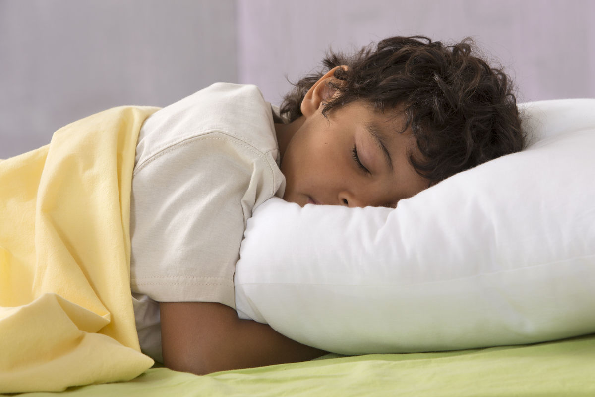Photo of sleeping child