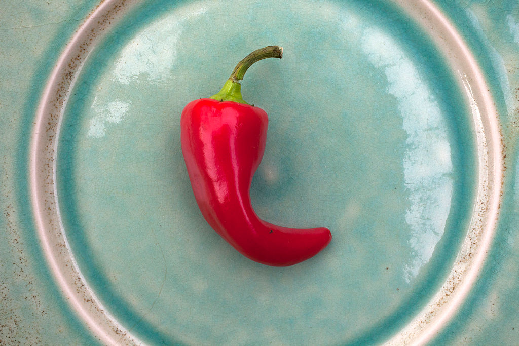 GettyImages-467619380 cayenne pepper is one of the hot chili peppers