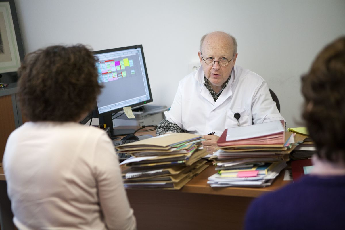 Epilepsy screening and follow-up consultation with a doctor