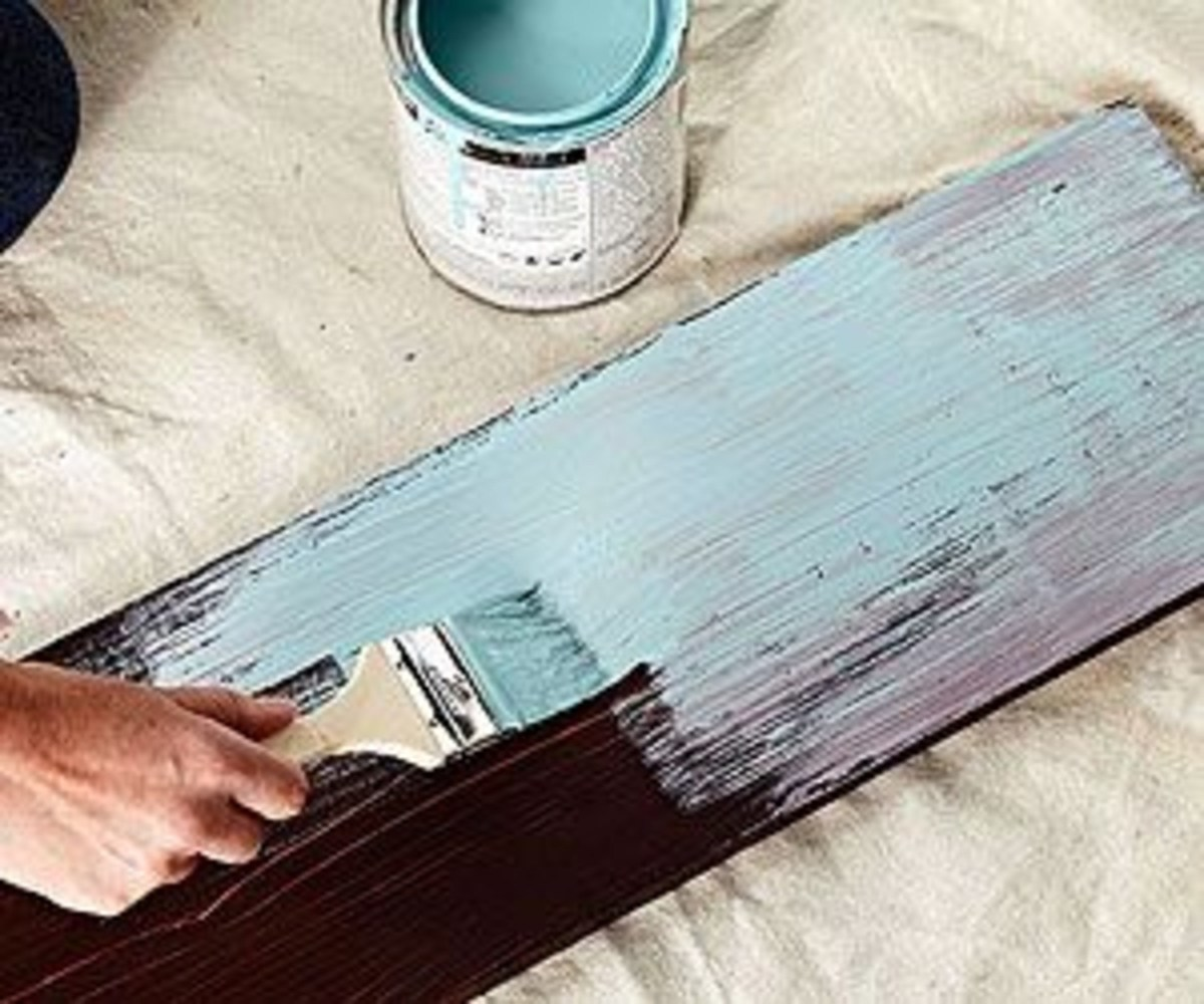 distressed paint