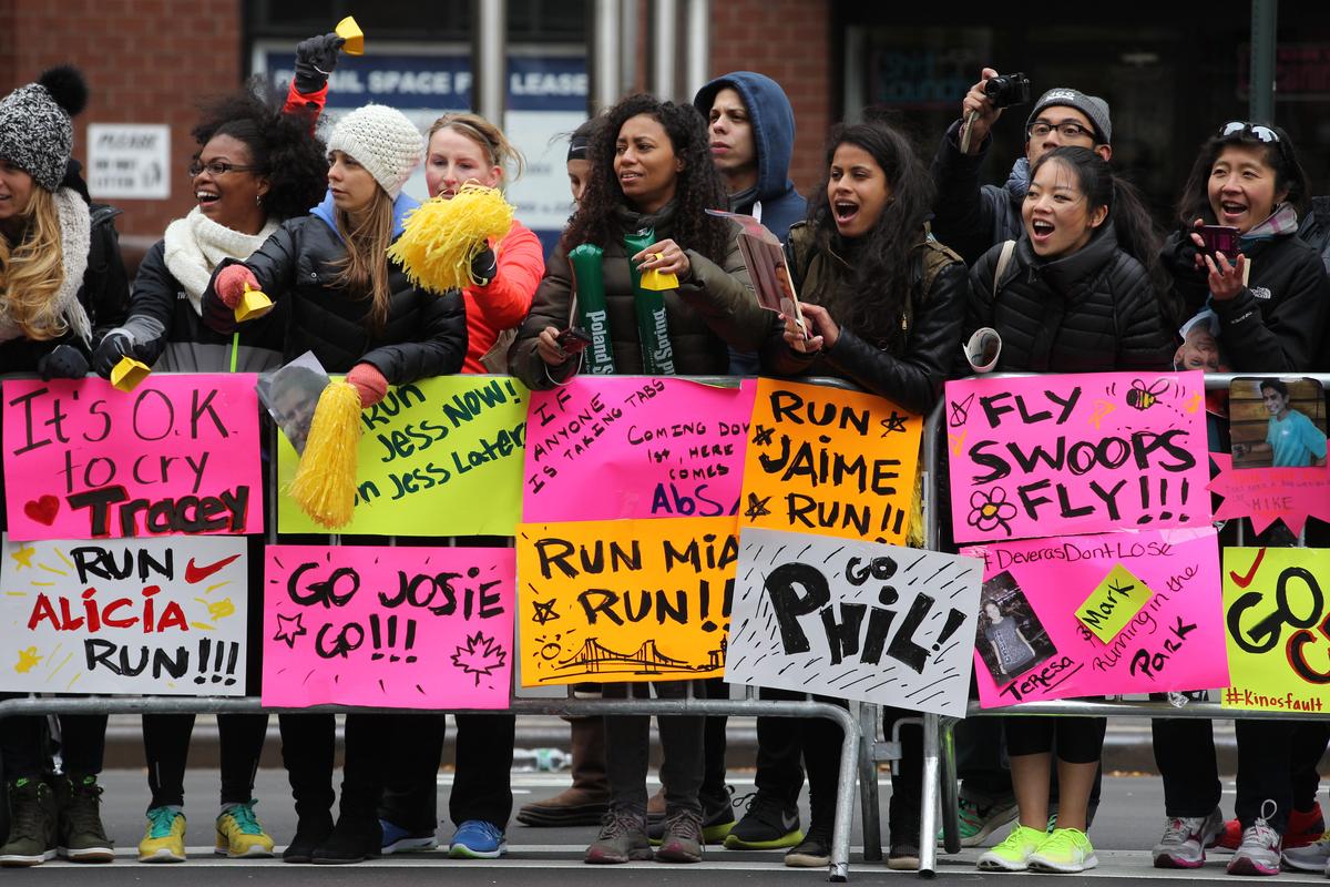 The ING New York Marathon 2013
