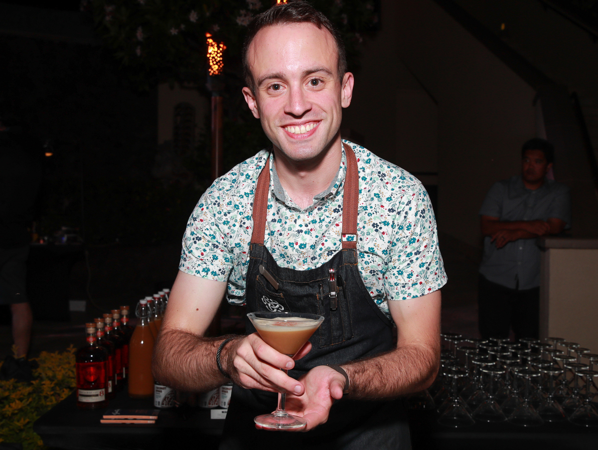 Four Seasons Beverage Manager Ben Yabrow attends the 2019 Maui Film Festival's Taste of Chocolate