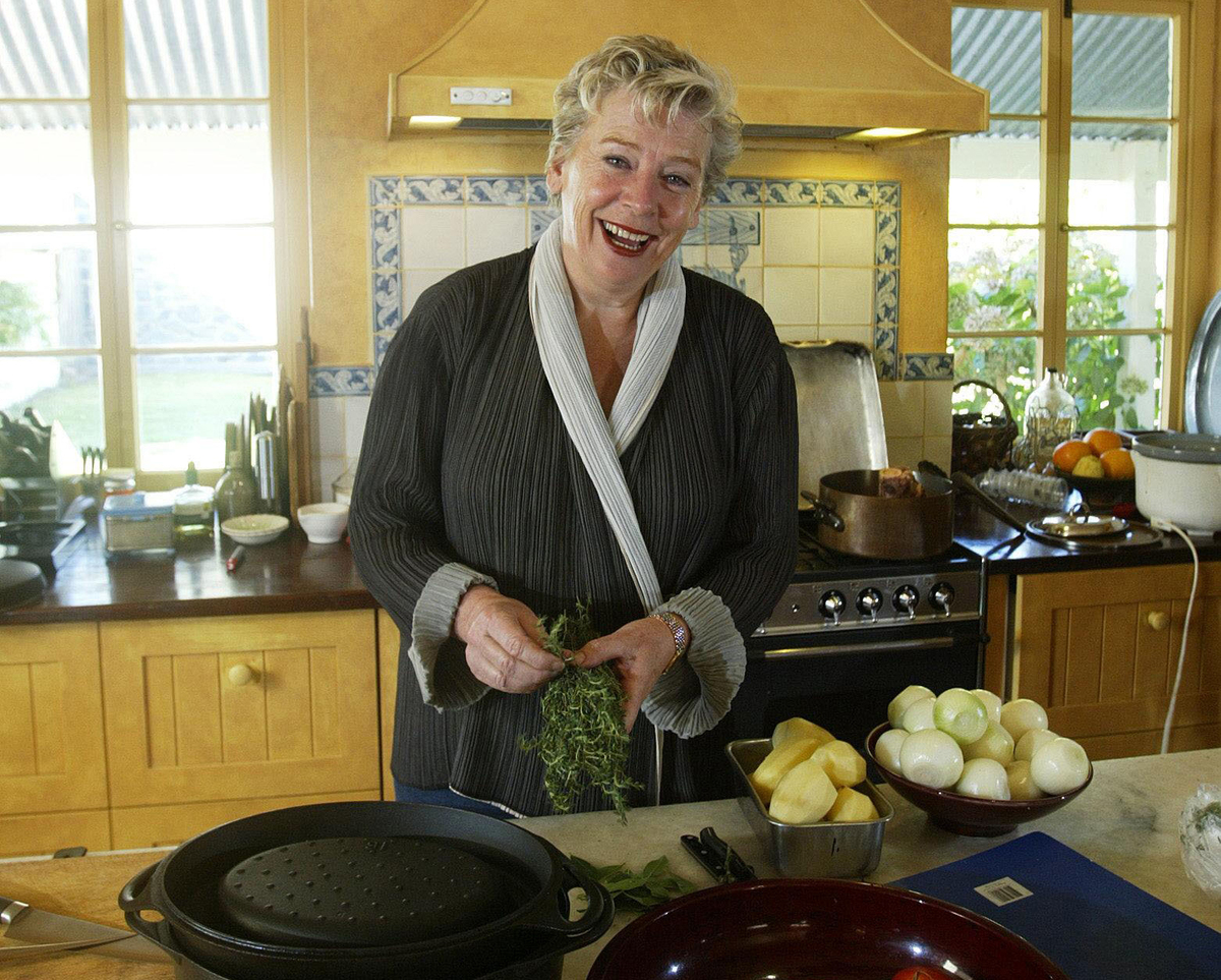 Food identity Maggie Beer in the kitchen of her Barossa Valley home
