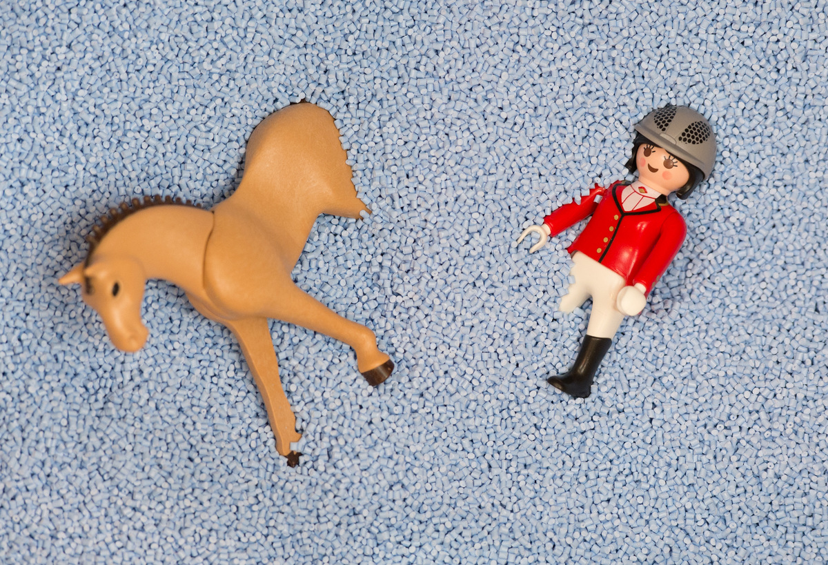The Playmobil toy figure