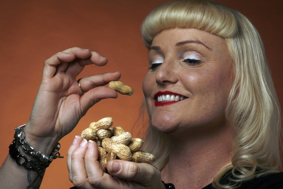 Peanuts for a Health cover story on food allergies in the LA Times, 2009