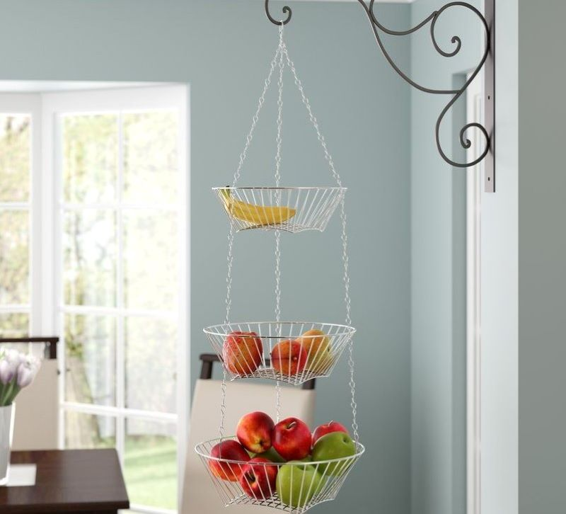 Hanging Fruit Baskets Save Room And Look Great!