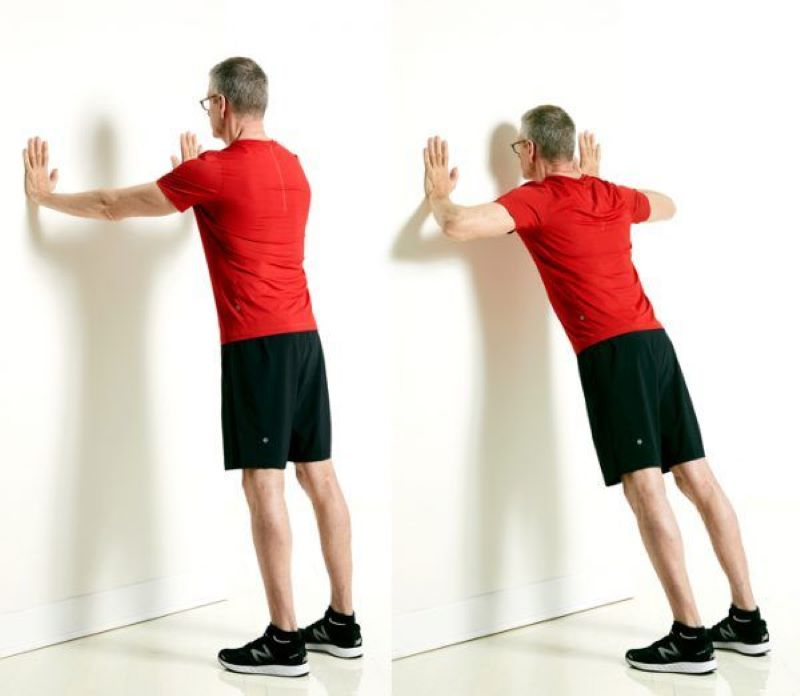 Standing Push-Ups Help Tone Your Arms And Core