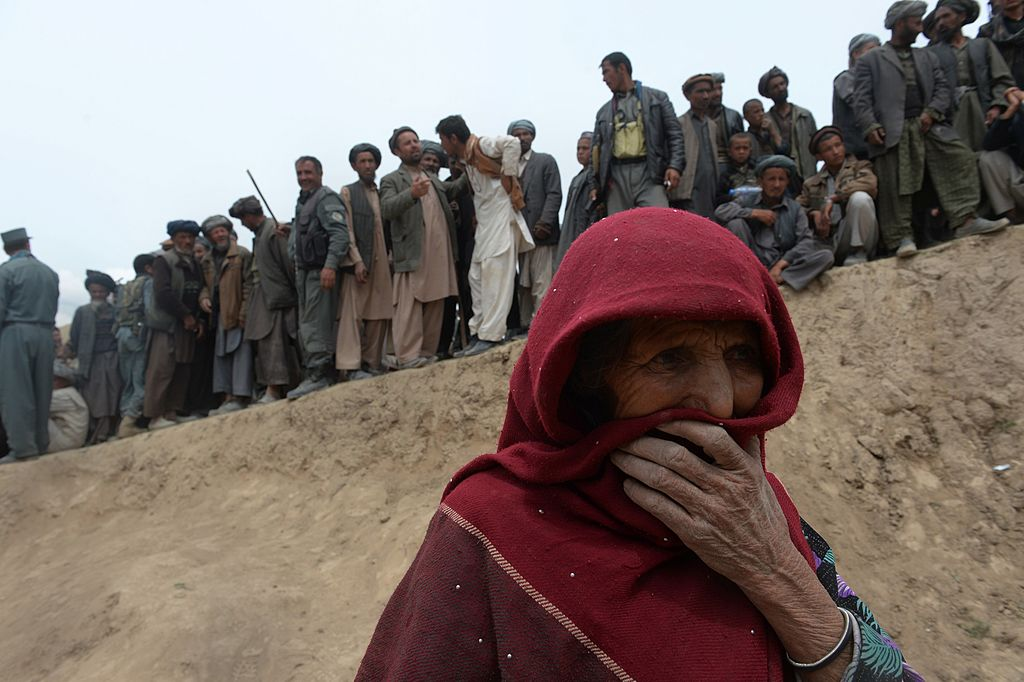 afghan woman war
