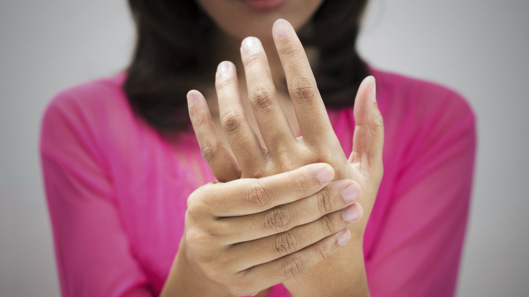 numb fingers