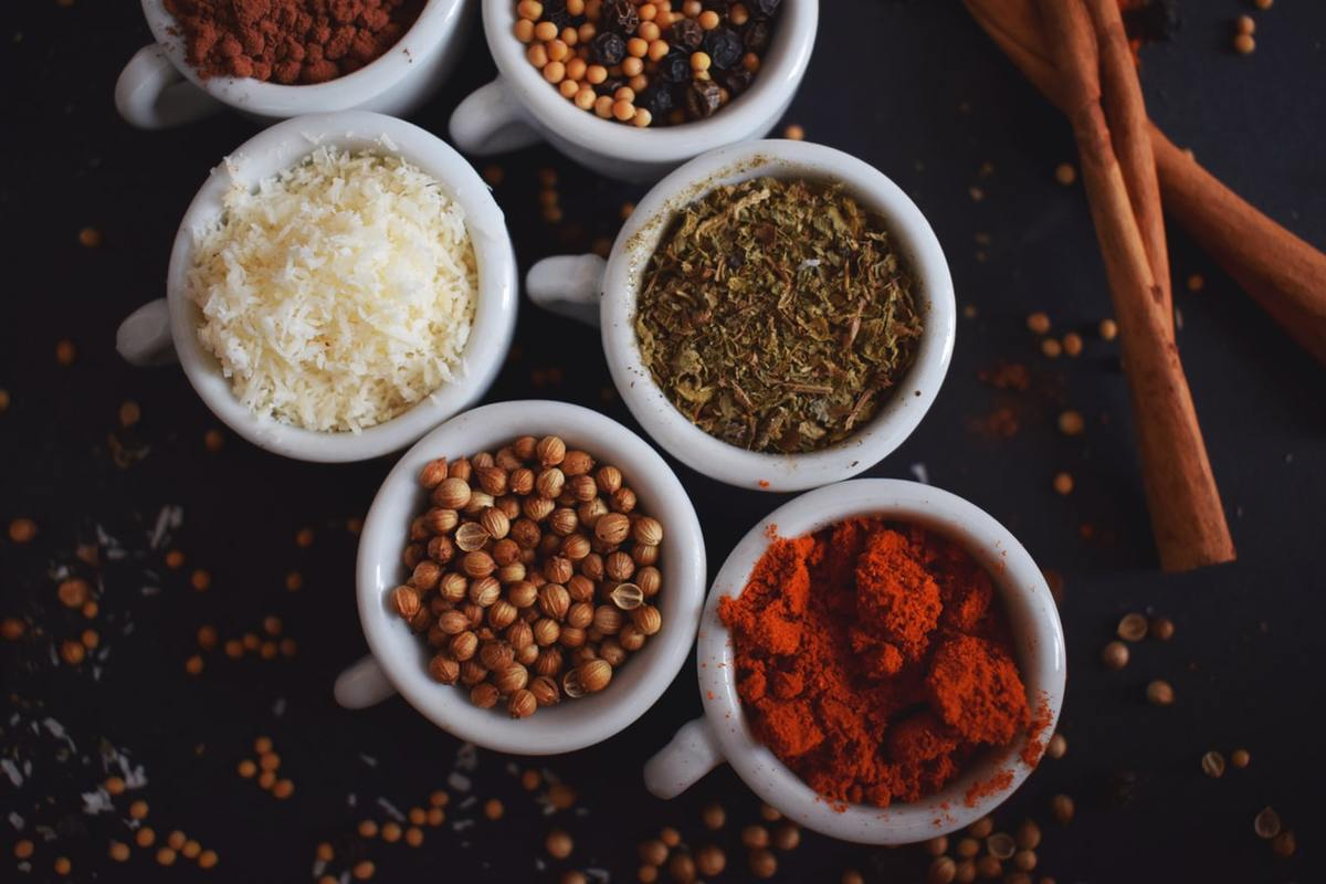 up close spices