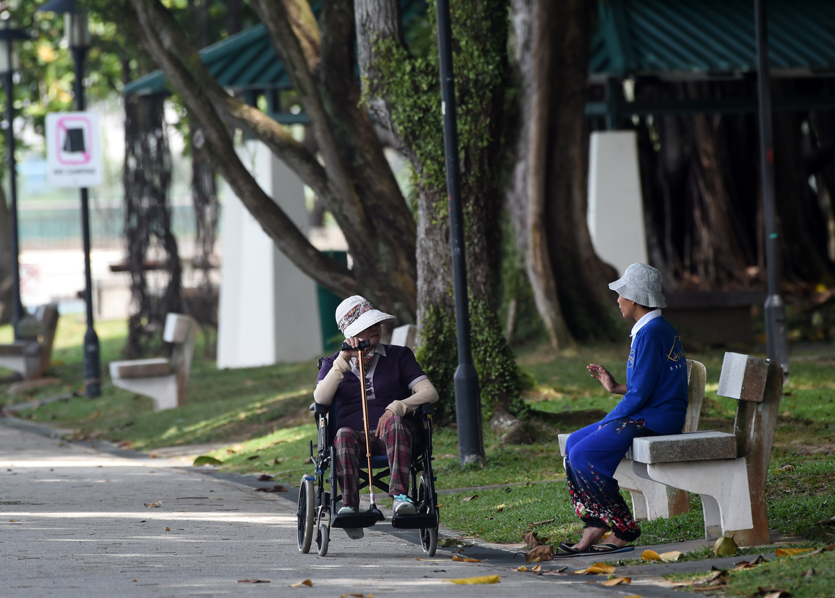 singapore elderly lifestyle