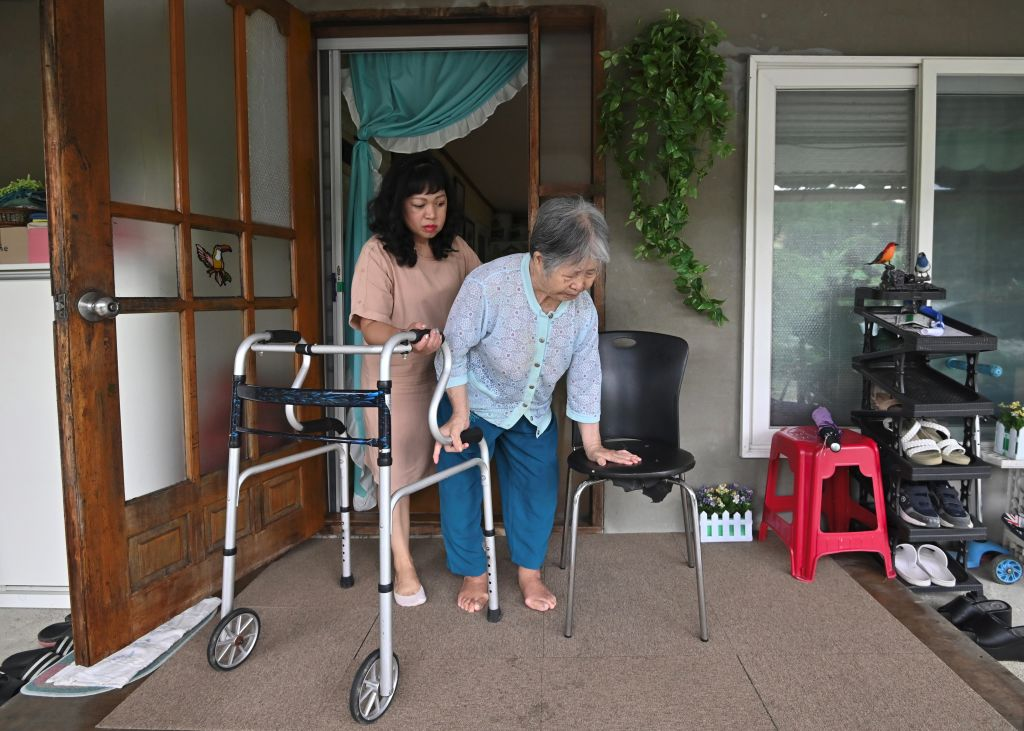 south korean elderly
