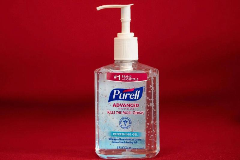 Bottle of Purell