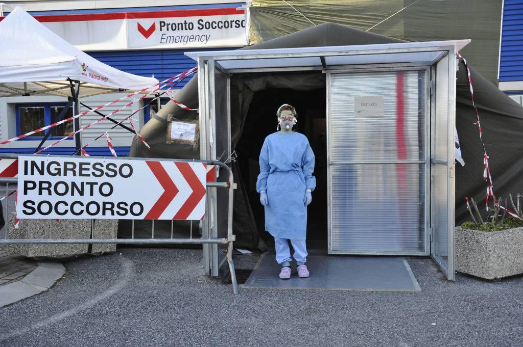 a nurse in italy