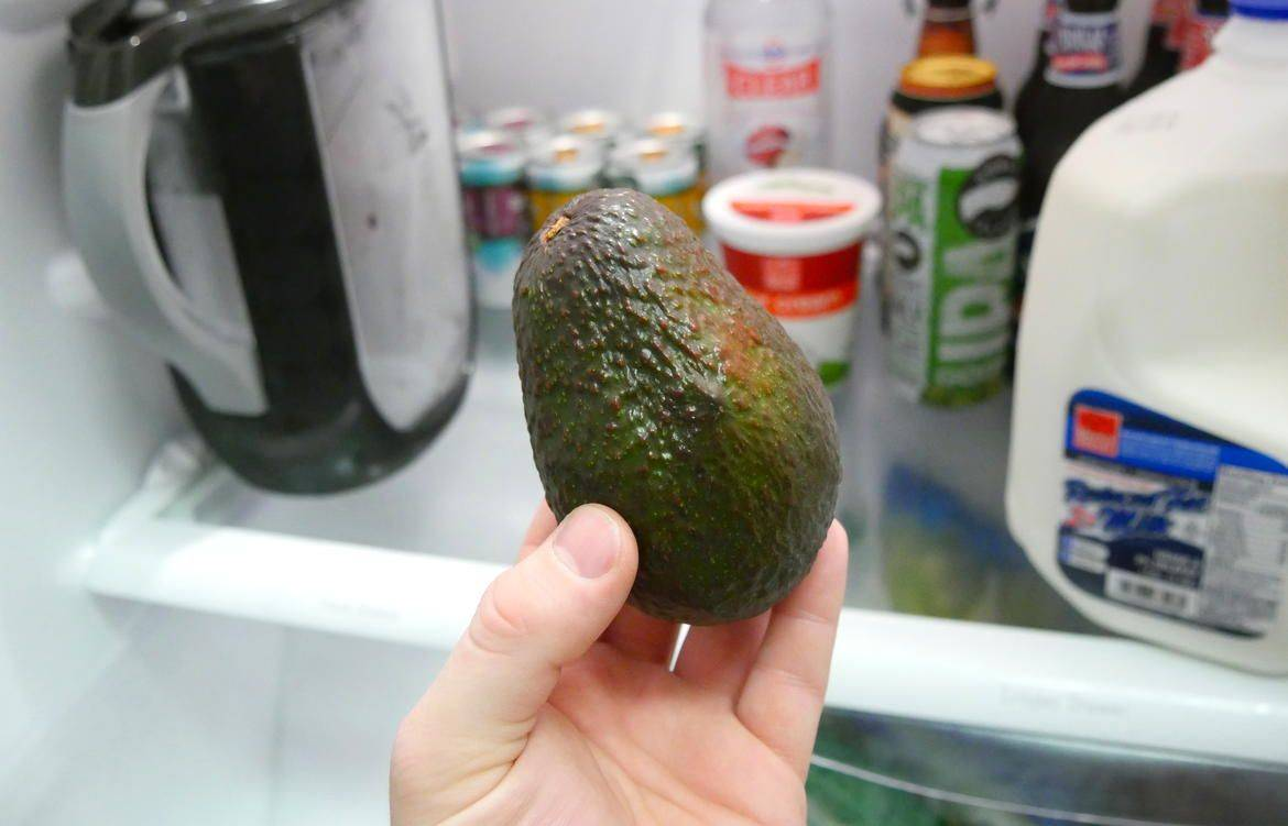 Place Avocados In The Refrigerator So They're Un-Ripe Longer