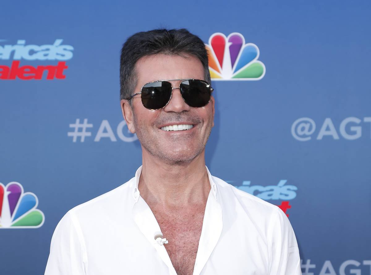 Simon Cowell attends the