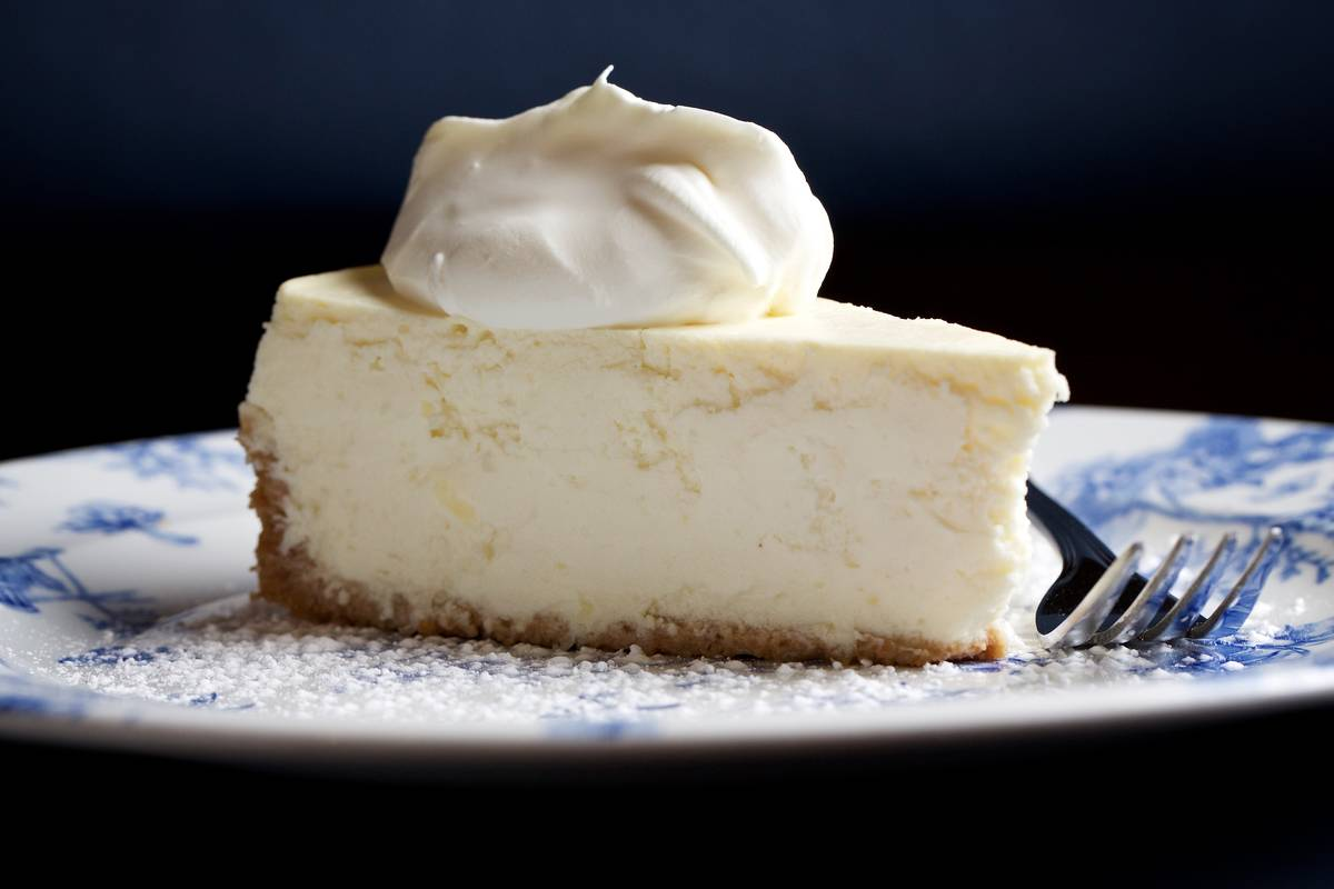 Frozen Cheesecake Slices Melt In Your Mouth