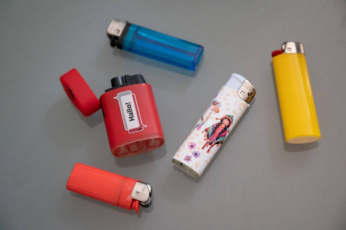 Project wants to recycle discarded lighters
