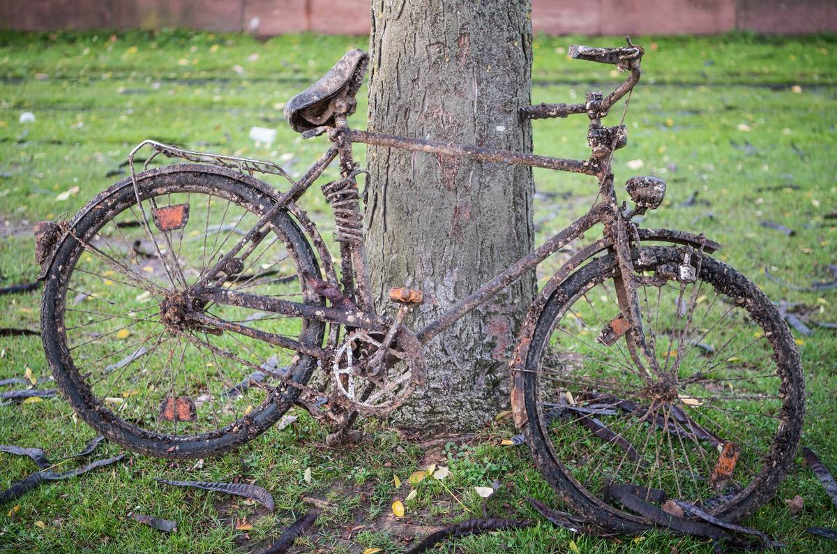 Bicycles from Main salvaged