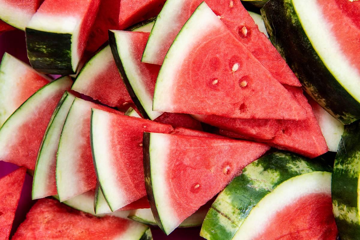 watermelons in studio