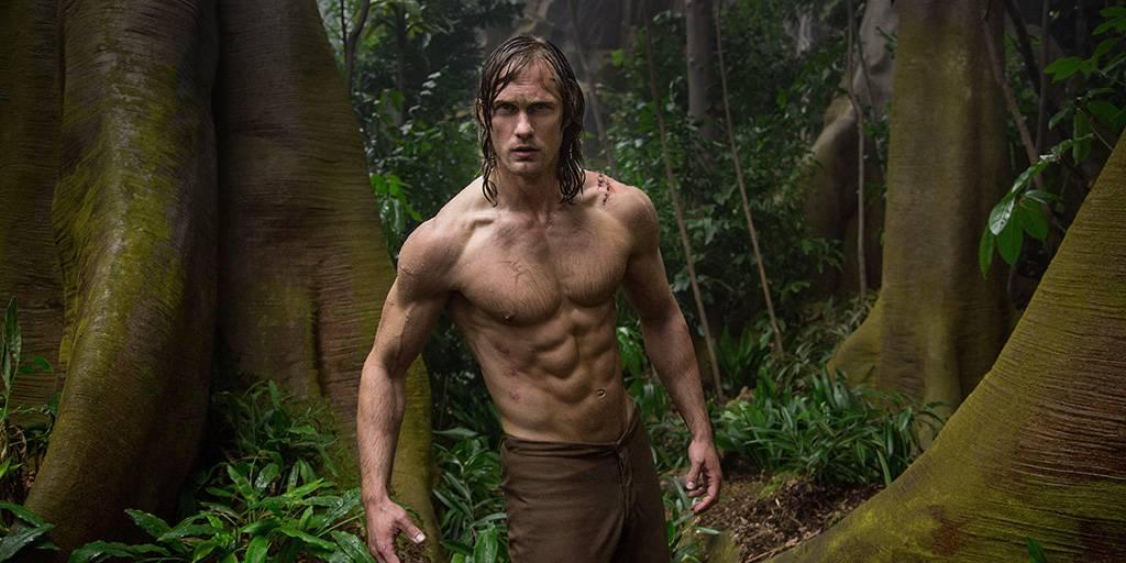 Skargard as Tarzan