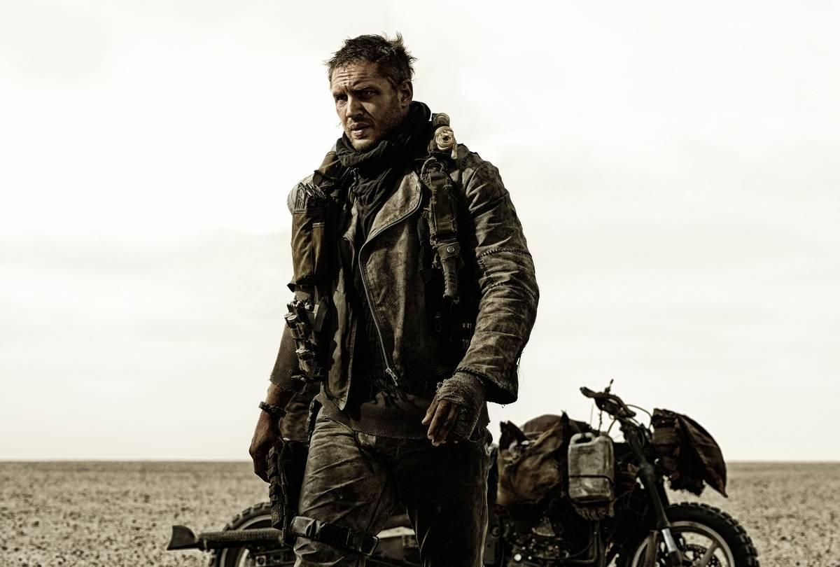 Tom Hardy In Fury Road
