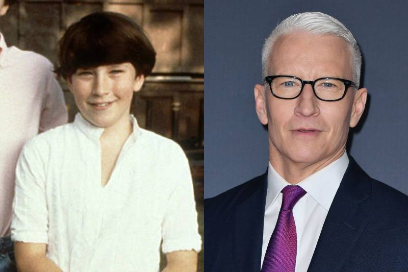 anderson cooper young and old