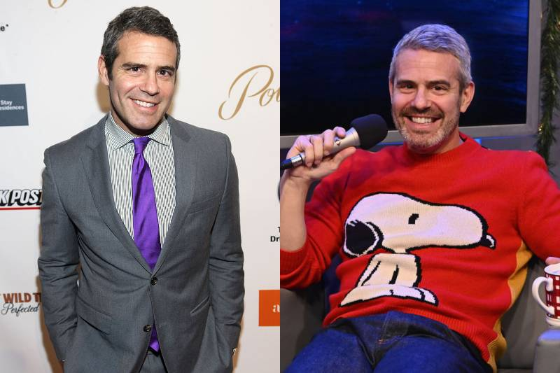 andy cohen young and old photos
