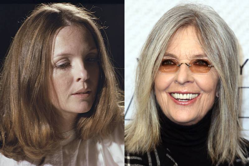 diane keaton young and old