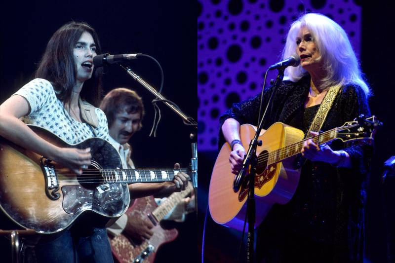 emmylou harris young and old photos