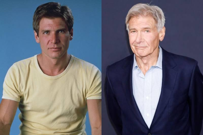 harrison ford young and old photos