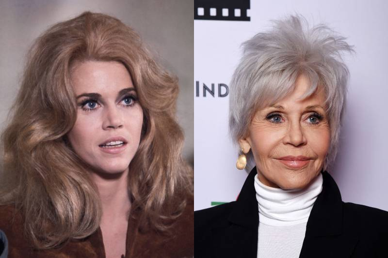 jane fonda young and old photos