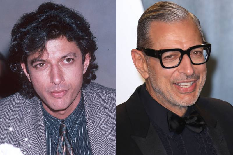 jeff goldblum young and old photos
