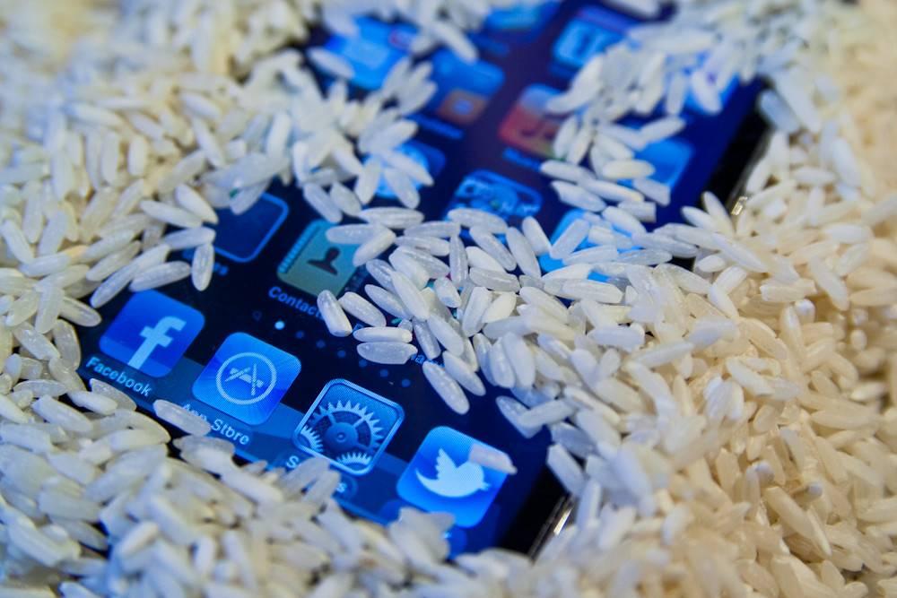 phone-rice