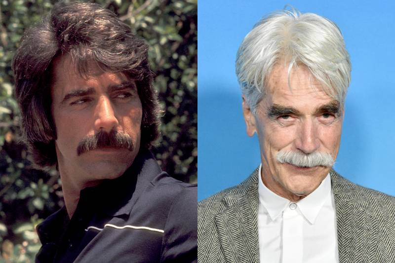 sam elliott young and old photos