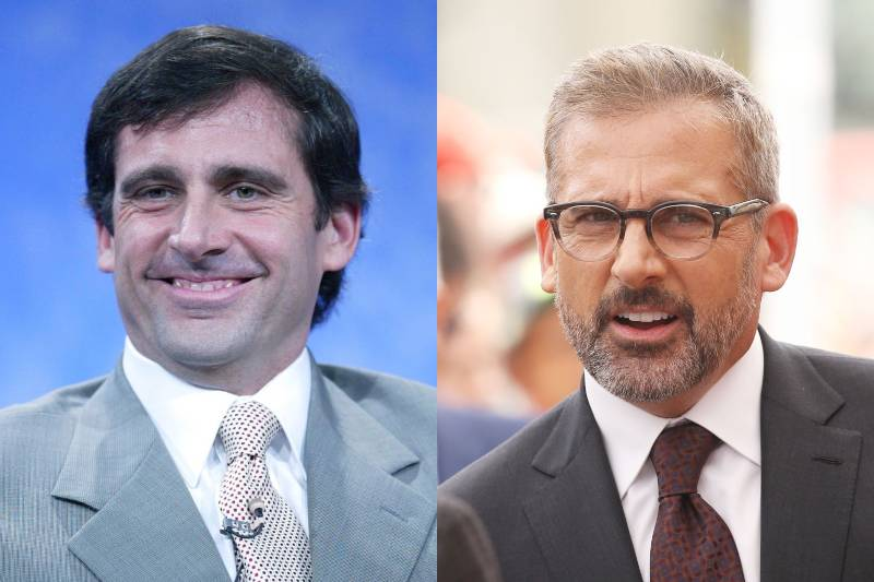 steve carell young and old photos
