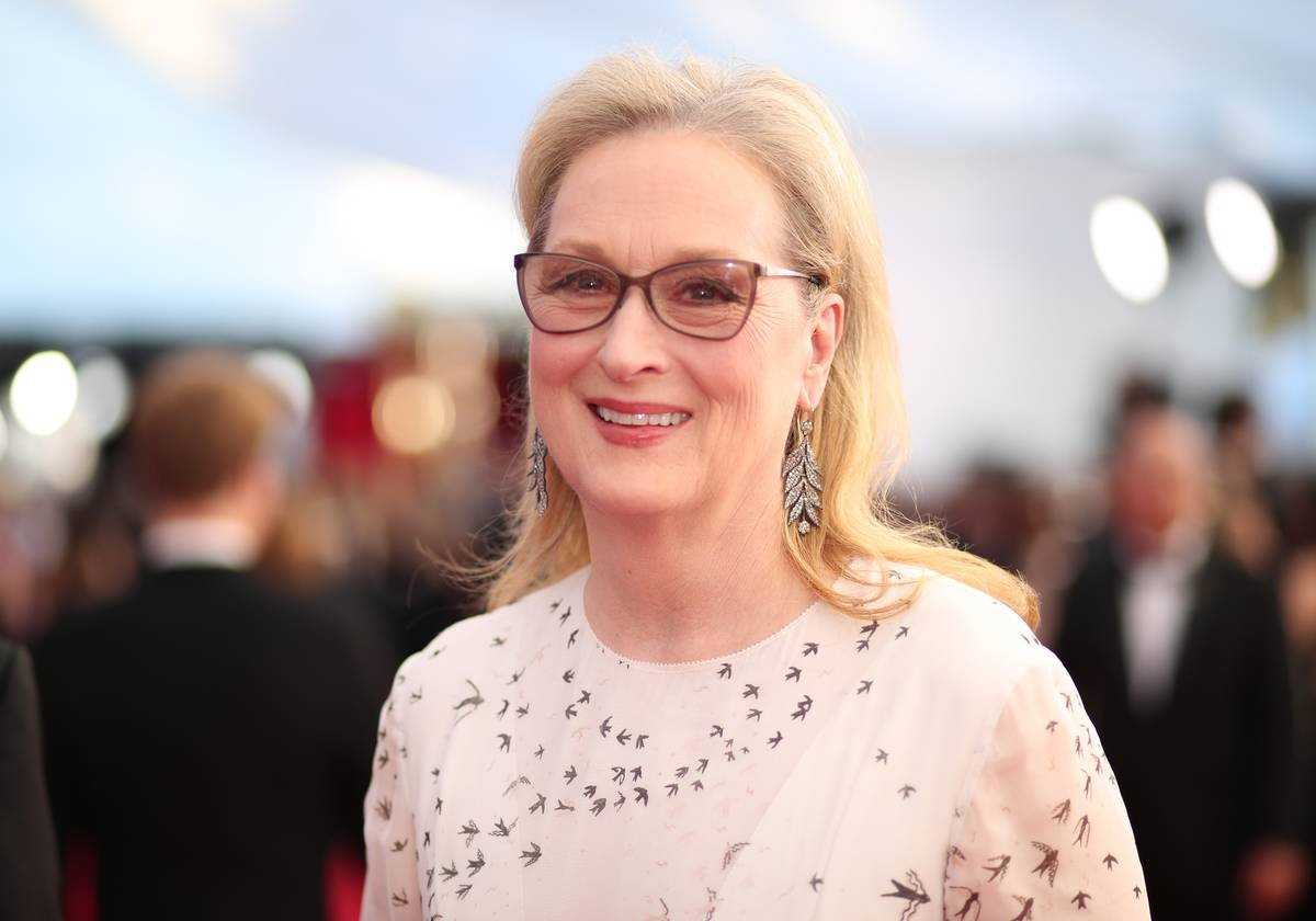 Meryl Streep Is All About Embracing Old Age