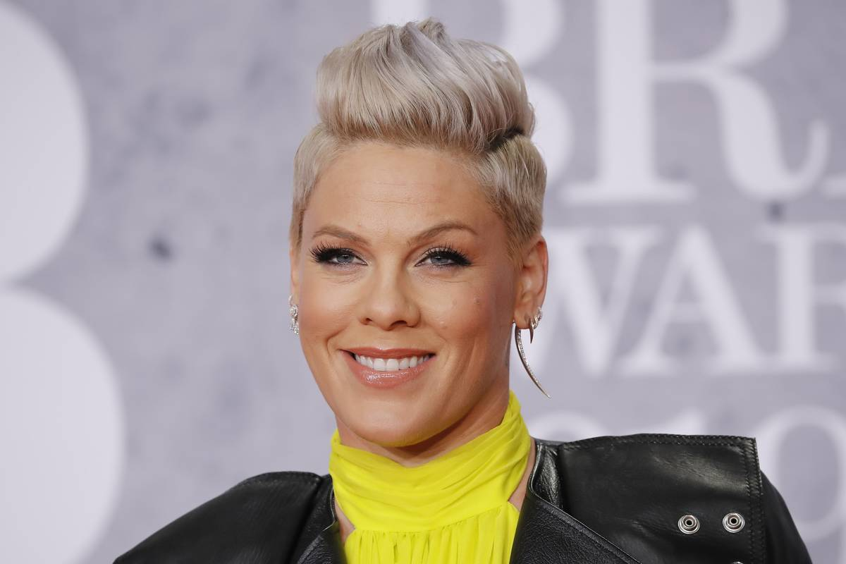 P!nk Doesn't Like When People's Faces Don't Move