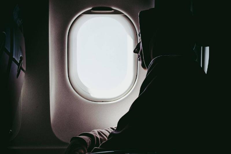an on a plane