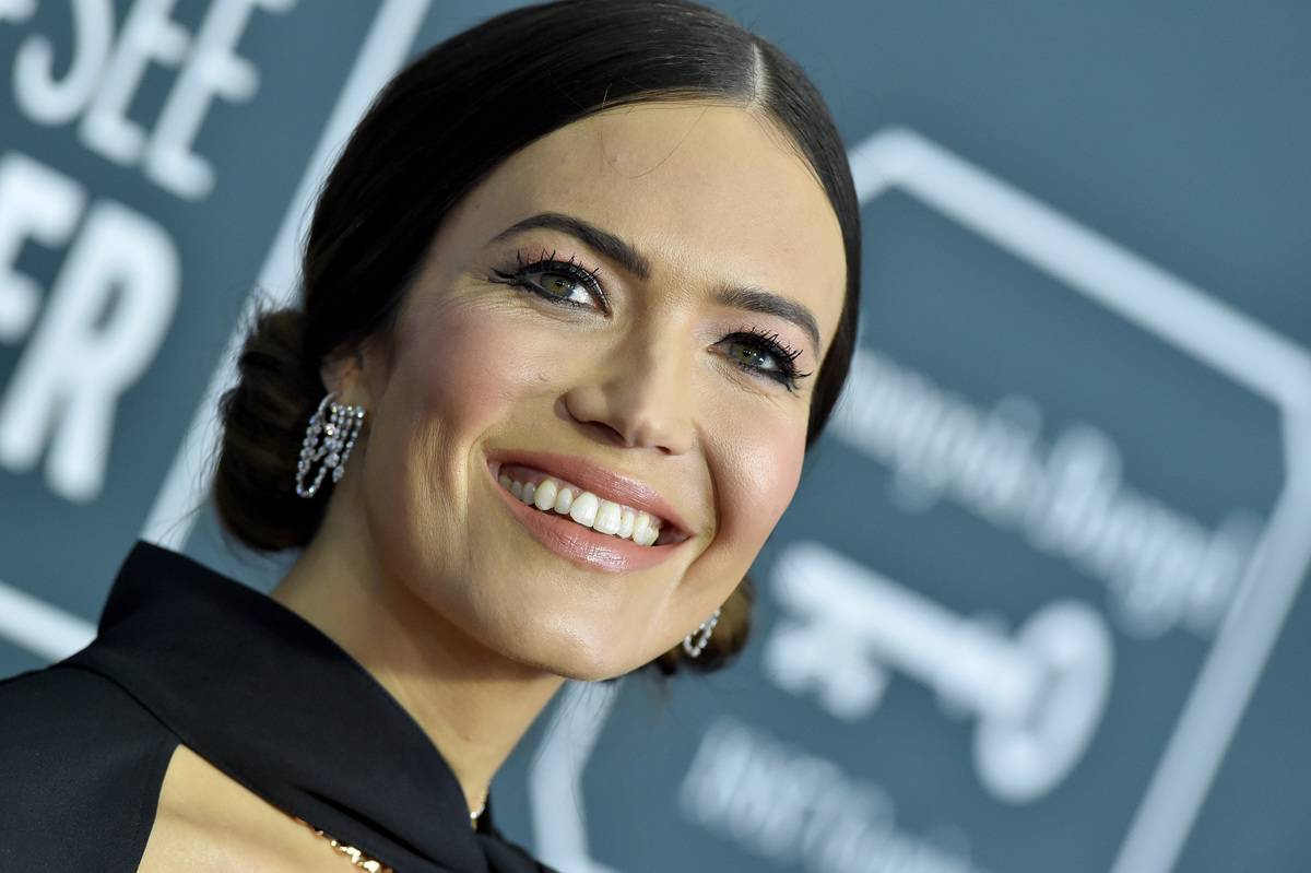 Mandy Moore attends the 25th Annual Critics' Choice Awards.