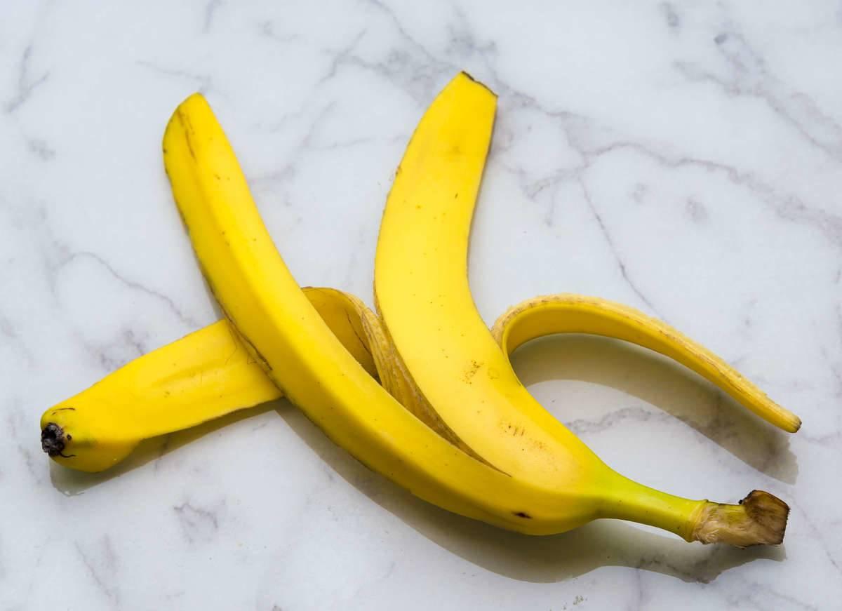 Banana Peels Have A Few Benefits