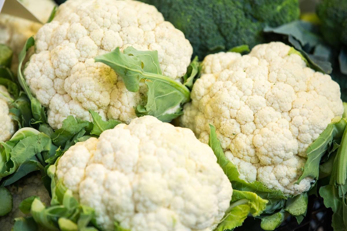 Cauliflower Helps Produce Extra Saliva