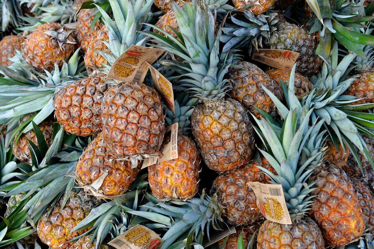 Pineapple Contains A Natural Stain Remover