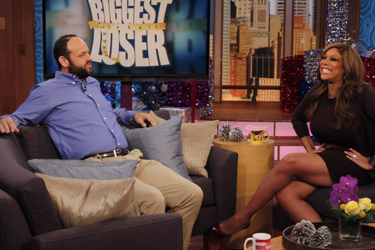 John Rhode gets interviewed by Wendy Williams for being the winner of Biggest Loser.